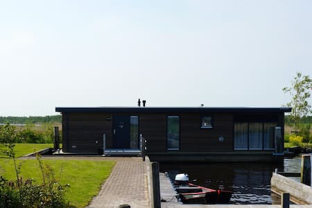 Houseboat in beautiful Friesland - Boat