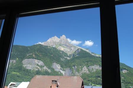 Appartement 2 pièces vue Mont-Blanc - Sallanches - Apartment