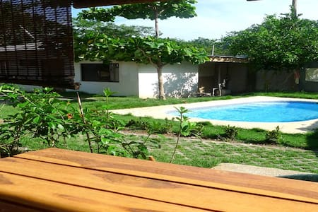 Fully equipped studio with pool