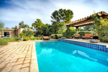 PV Guest house sleeps 4 heated pool - Huis