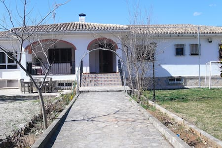 I rent rooms country house - Enguera - Chalet