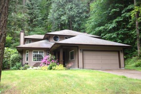 Sudden Valley Rainforest Retreat - Bellingham - House