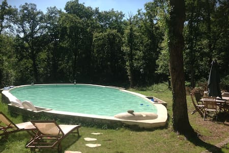 Valliere Lodge 1BR & privative pool - House