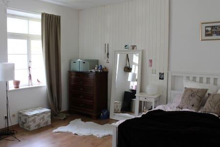 Schönes helles Zimmer in gut gelegener Altbau-WG - Apartamento