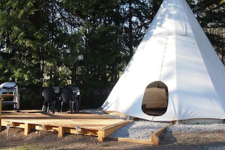 Luxury Tipi for 2 people - Tipi