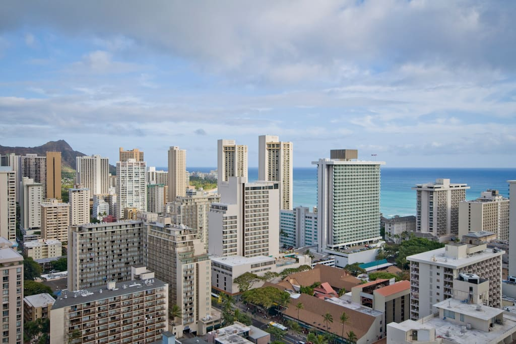 Spectacular Ocean View 1BR, Waikiki