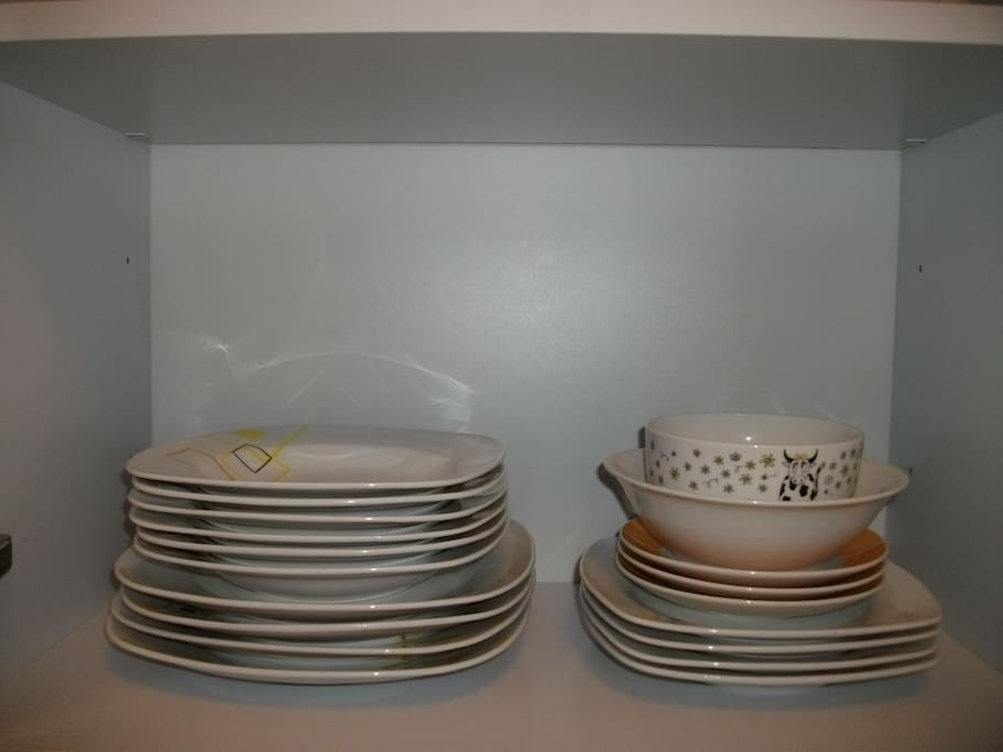 Dishes and bowls!