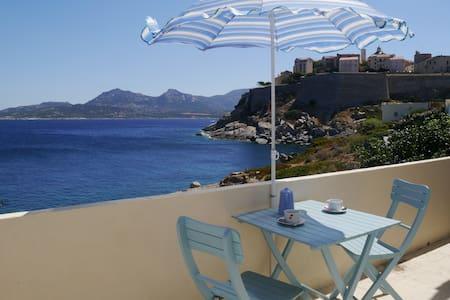 Corsica 1r flat in villa by the sea - Calvi