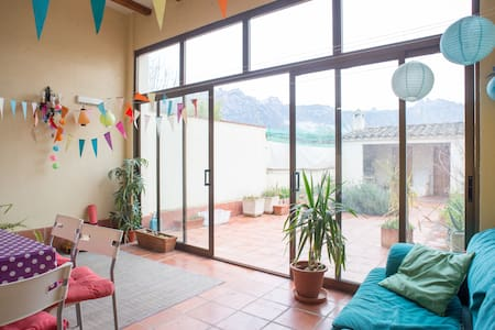 Room with great view to Montserrat  - Casa