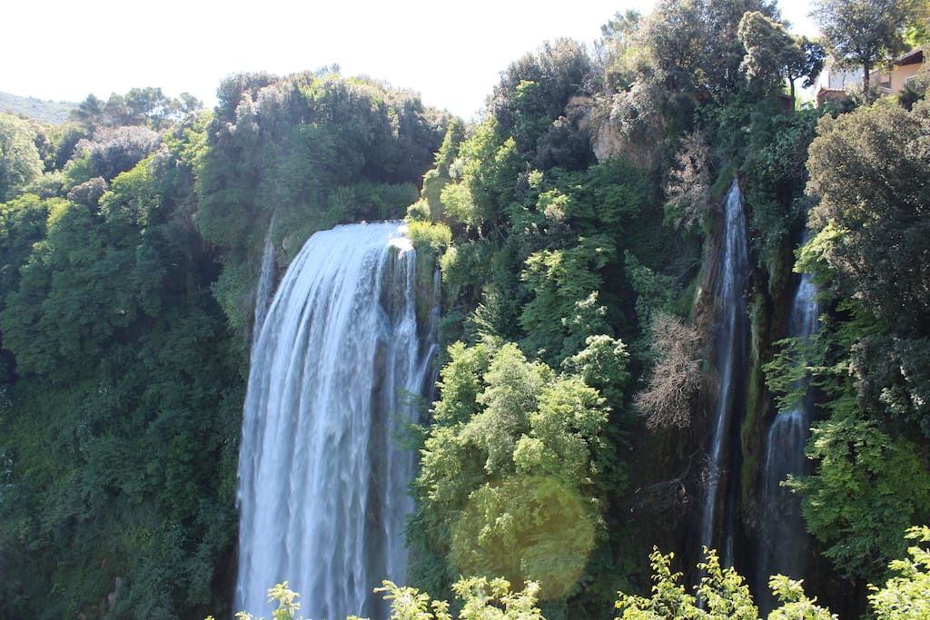 La cascata delle Marmore a 10 Km da Moggio