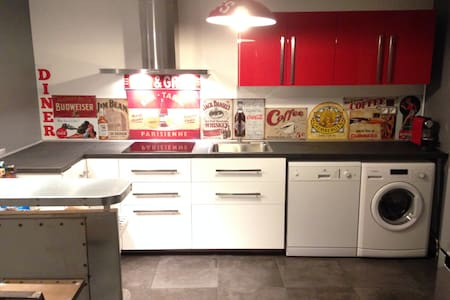 Appartement T2 60m2 centre ville proche stations - Saint-Jean-de-Maurienne - Apartment