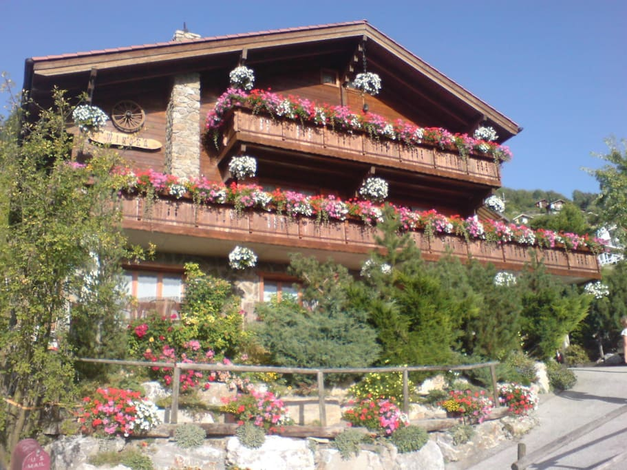 Our Chalet in Summer