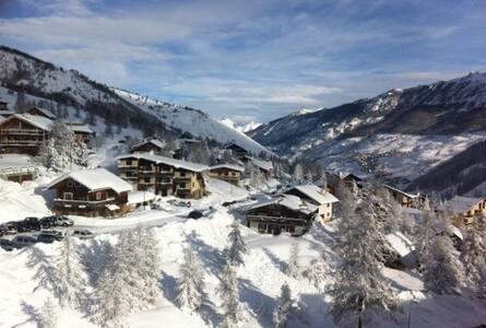 Pied pistes Vars Claux ski ou été - Leilighet
