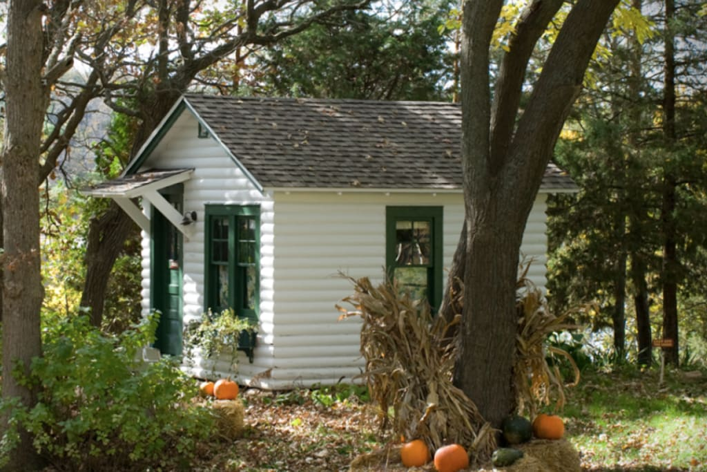 Another shot of the cottage in fall