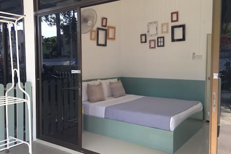 Aircon Room 7 with Patio - Townhouse