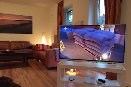 Traumhaftes Kamin-Loft am Meer - Apartment