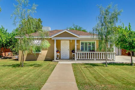 Quiet home in historic downtown - close to airport - Casa