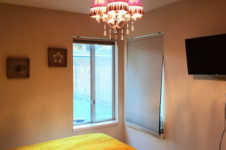 Private, quiet, clean, all natural with bike! - Palo Alto - Maison