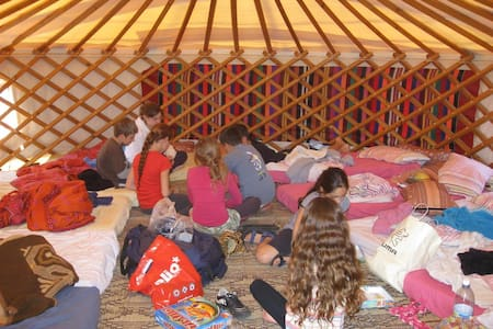Cozy Mongolian Tent in Ramat golan - Giv'at Yo'av