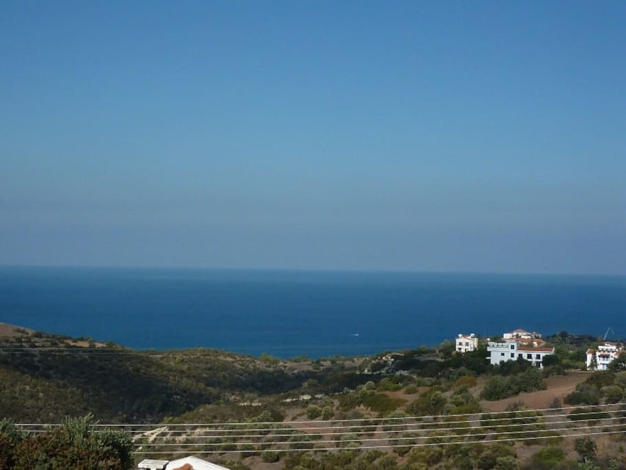 View of sea Directly in front of Villa