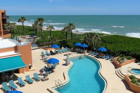 Beach Side Condo - Near Cape Canaveral - Indian Harbour Beach