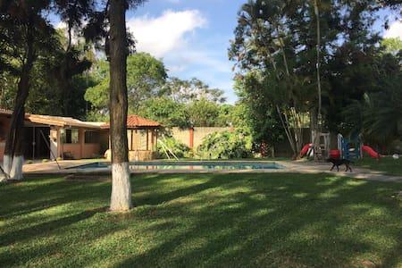 Sítio lindo, 30 km de SP, Próx Rota Vinhos S Roque - Vargem Grande Paulista - Cabana