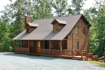 Turtle Creek Cabin Retreat - Sleeps 20 - Kisház