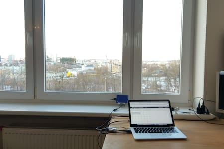 Flat with GREAT city view (fireworks&inspiration) - Tallinn - Leilighet