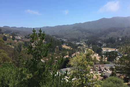 Beautiful mountain views - close to SF and SFO - Pacifica - Daire