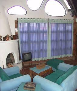 Preciosa casa tipo cabaña al sur DF - Ciudad de México - Cabin