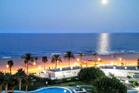 FLAT SEA VIEW IN THE BEST BEACH ALICANTE CITY WIFI - Wohnung