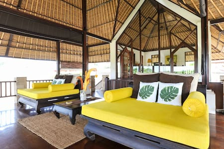 Villa Leha-Leha is a private, fully-serviced luxury villa located in Sanur on the east coast of Bali. Not your average rental villa, it was designed & built by the Owners for use as their second home.