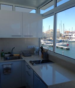 Lovely studio with wonderful views - Empuriabrava - Wohnung