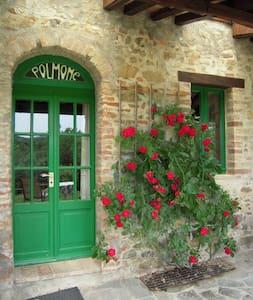 Lieflijk boers appartment in Umbrie - Pornello (Frazione di San Venanzo) - Leilighet