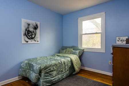 Cozy Blue Room near State Capitol - Albany - Haus