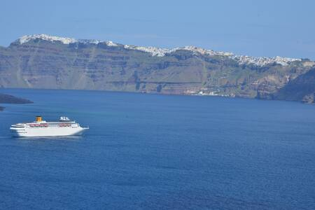 See Santorini Akrotiri Sea view 2