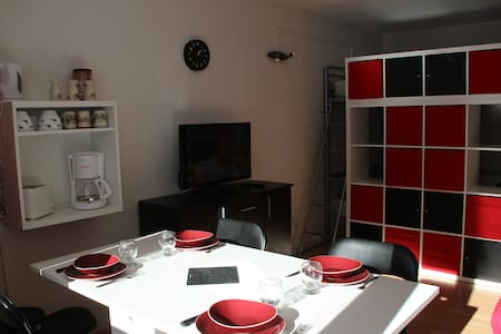 Studio au pied des pistes + Cellier - Appartamento