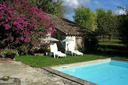 Bergerie dans un petit moulin - Montaigu-de-Quercy - House