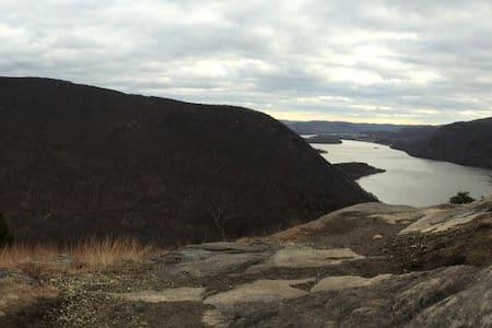 North of NYC along the Hudson
