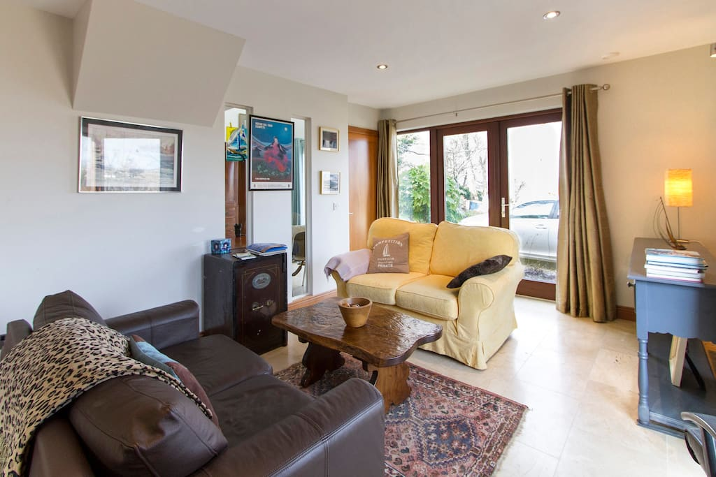 Comfie sofas in guest sitting room