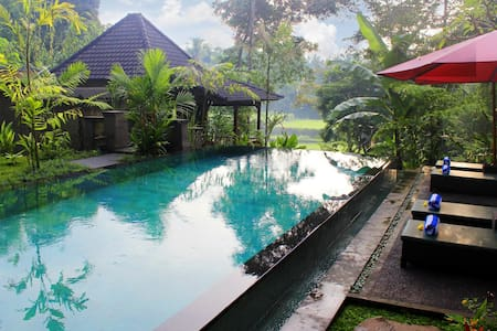 1Br Balinese Villa w/RiceField view