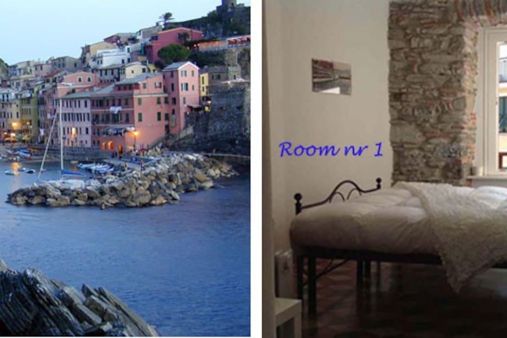 Eva's Rooms Vernazza  room  1