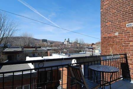 Chambre privée au coeur du Plateau - Montréal - Apartment