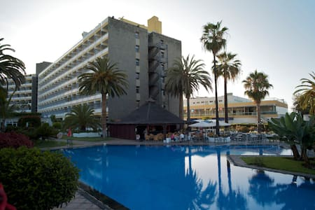 Studio: sea views & swimming pool - Puerto de la Cruz - Huoneisto