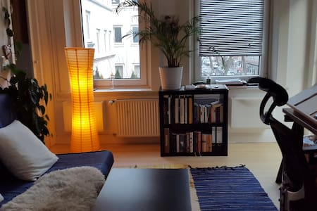 2 room appartement in the heart of hamburg.