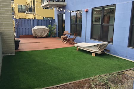 Two bedrooms and a Backyard