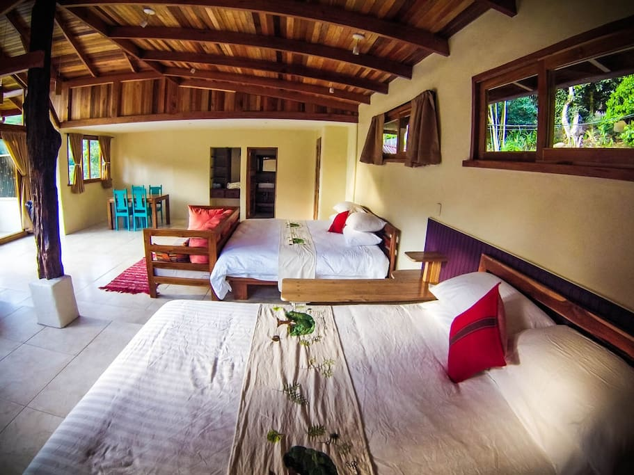 Beds at the Guanacaste Suite