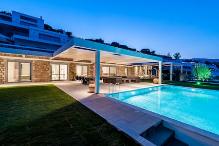 Modern Luxury Villa In Lindos - Lindos