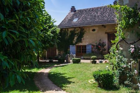 Charming cottage, South Burgundy, near Cluny - House