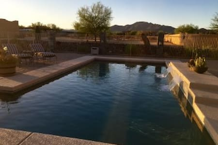 Lazy B Ranch-Views-Pool-Serenity rent 1 or 2 rooms - House